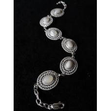 Оval filigree bracelet