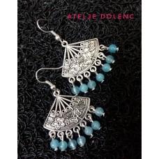 Aquamarine earring 4
