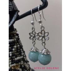 Aquamarine earrings 2